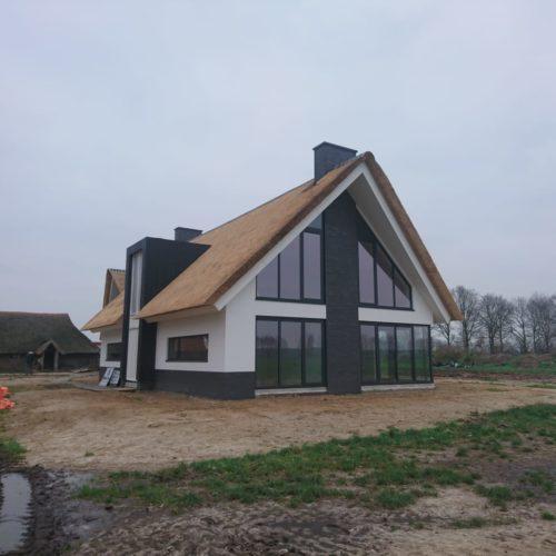 Villa in aanbouw Beilervaart
